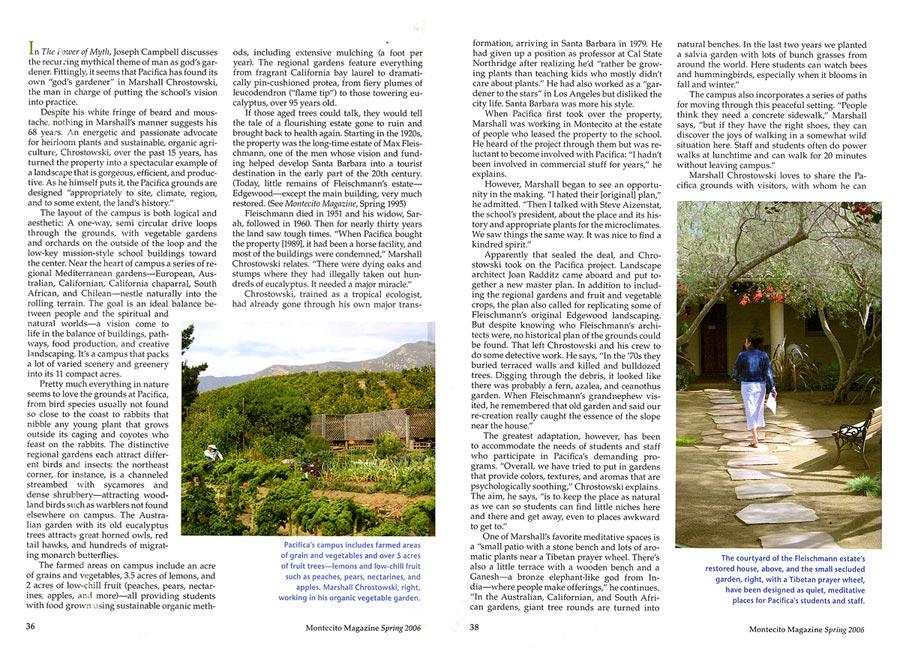 Joan Radditz Landscape Architecture Amp Planning Santa